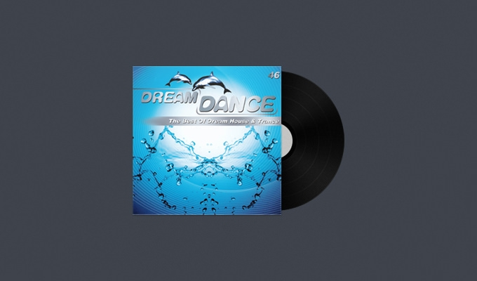 Vinly CD Cover PSD Download