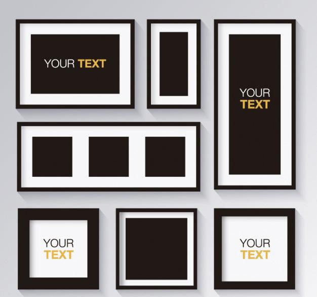 black-and-white-set-of-frames_23-2147491012