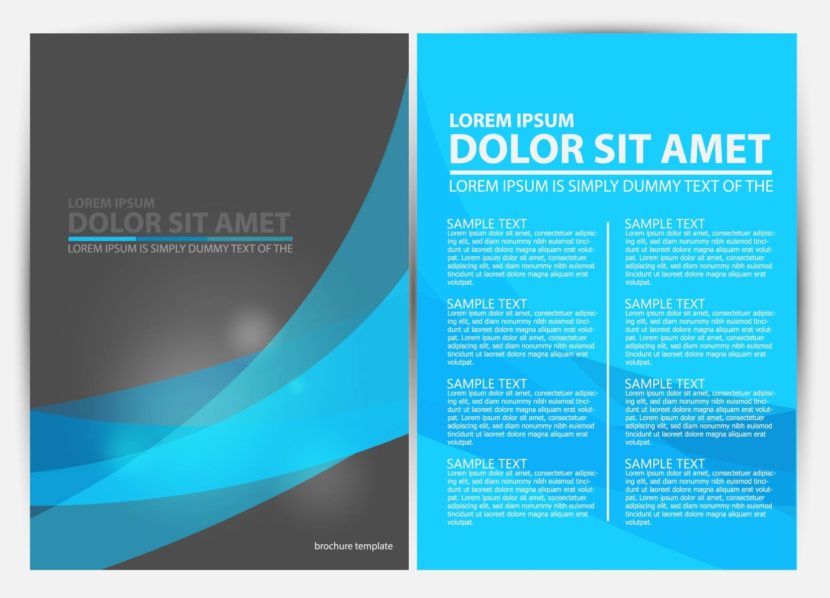 26 free a4 brochure design psd for Template of a brochure