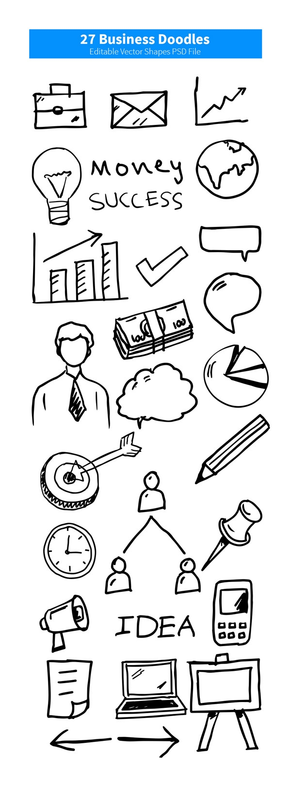 business-doodles-vector-shapes