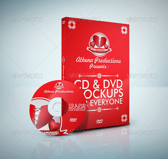 Download Free 42 Psd Cd Dvd Cover Mockups In Psd Indesign Ai