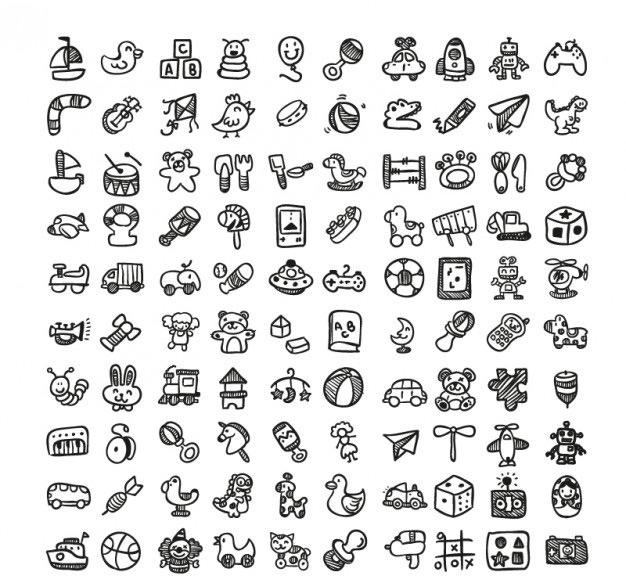 doodle-toys-icons-set_23-2147495017