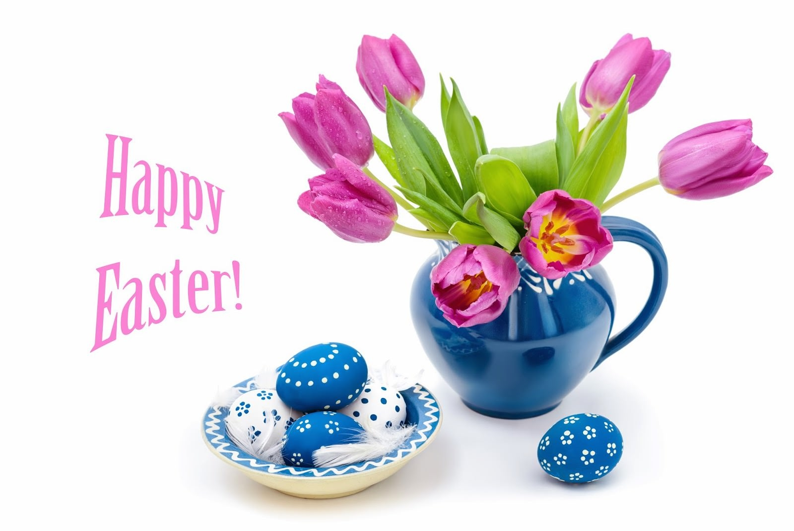 easter-Flowers-and-feathers-HD-Backgrounds-wallpapers