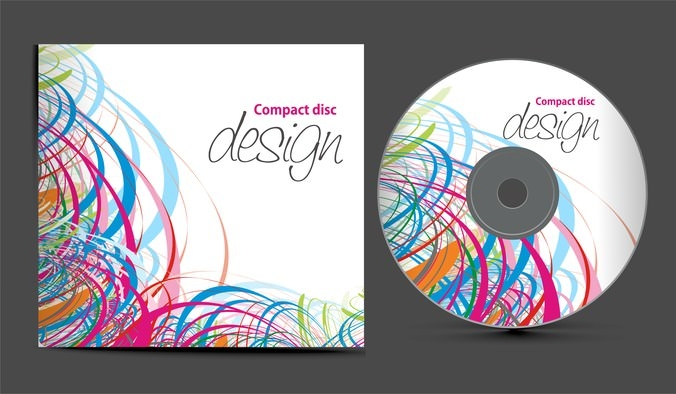 Fine CD Cover vector Set Download