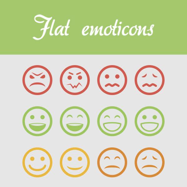 flatemoticons