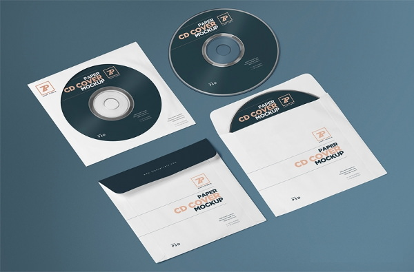 Download 25 Free Psd Cd Dvd Cover Mockups Freecreatives
