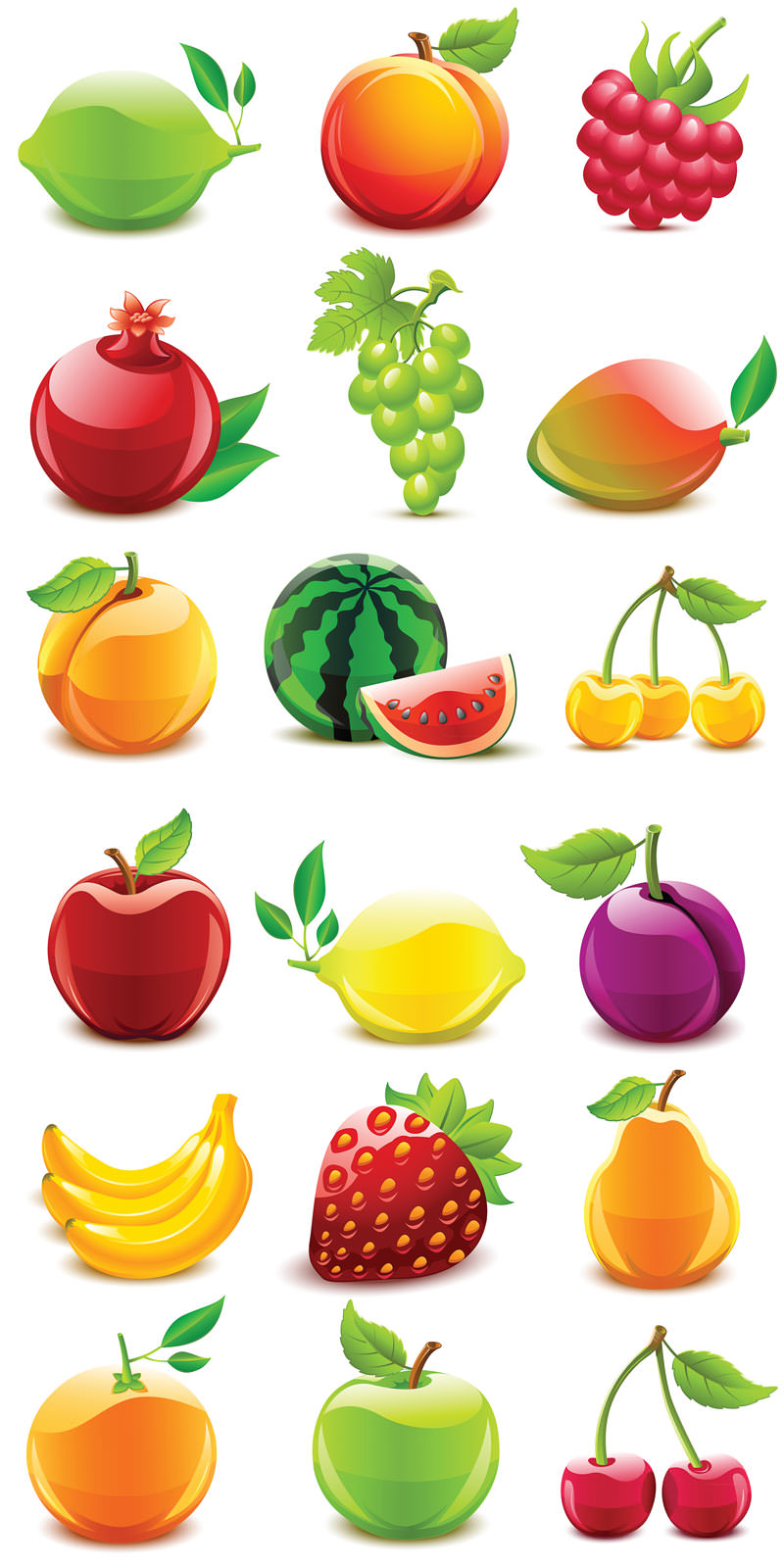 Fruit Png Icons Fruit-vector-icons