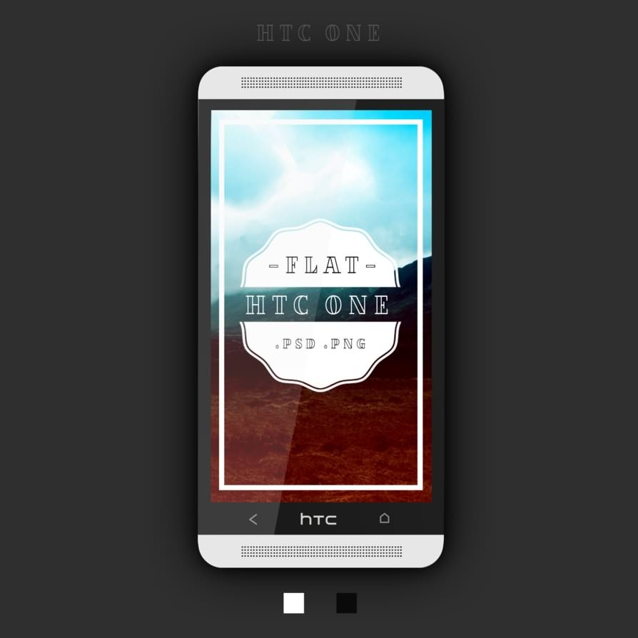 htc_one_flat_psd_by_zohan1980-d7f8gsz