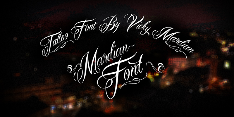 mardian-font