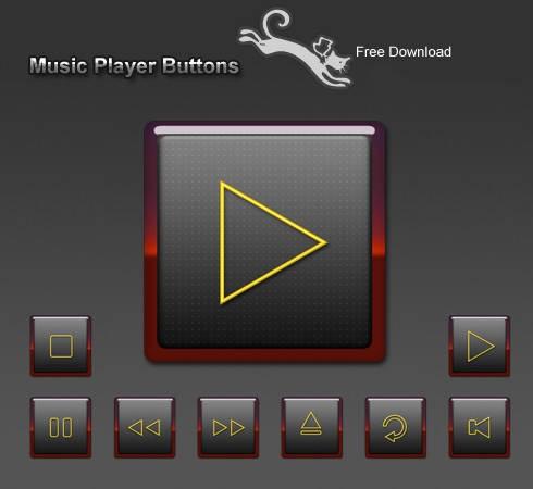 music-player-icons-free-download