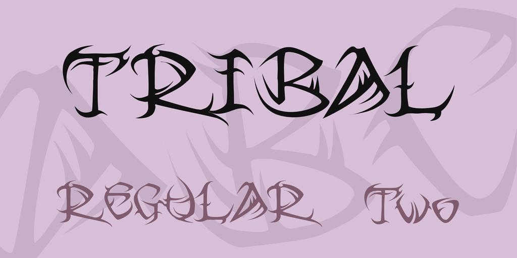 tribal-font-1-big