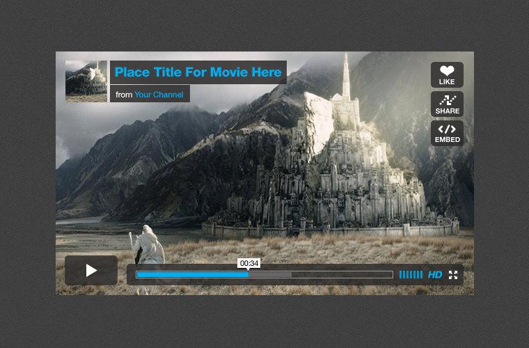 vimeo_player_ui_kit_freebie