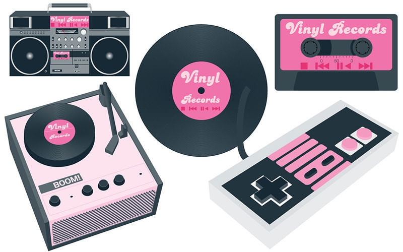 vintage-devices-vector
