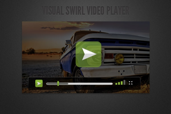 Free 35 Stylish Video Player Designs In Psd