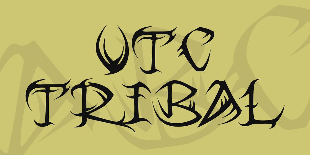 vtc-tribal-font-1-big