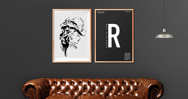 Frames On Wall Living Room Hanging Pictures