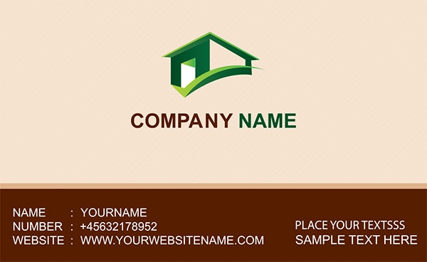 16 free psd real estate business card designs yellow homes real estate business card psd design reheart Choice Image