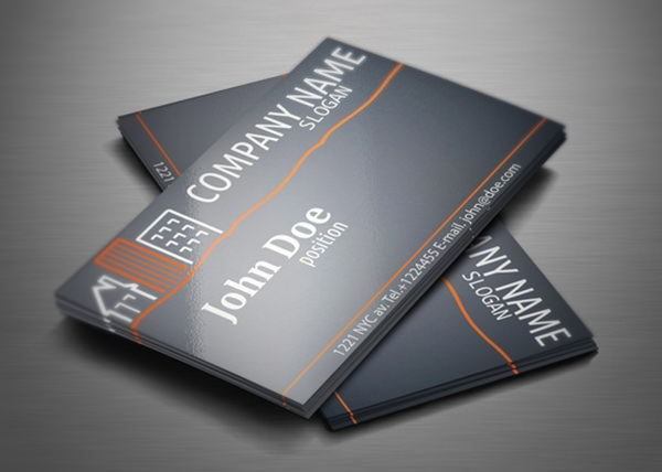 16 free psd real estate business card designs download free psd real estate business card design reheart Choice Image