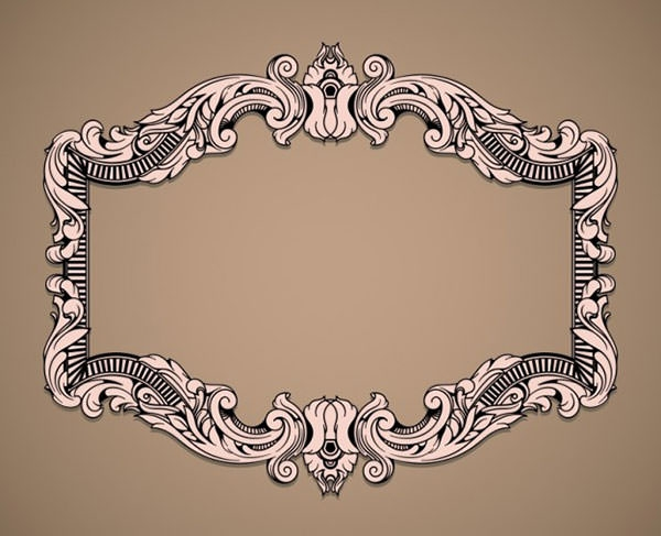 20 free vector vintage frame designs for Design a frame
