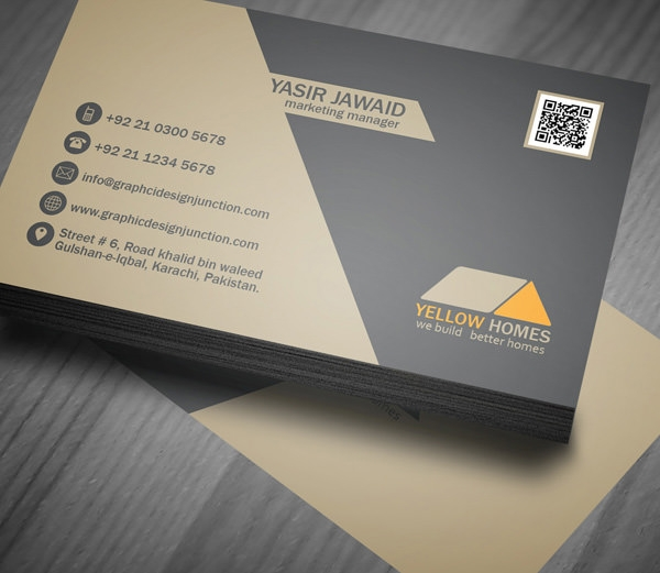 16 free psd real estate business card designs for Realtor business card ideas