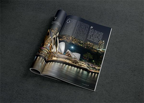 Magazine-Mockup psd