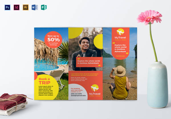 Printbale Travel Agency Brochure Template