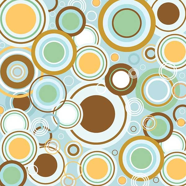 Retro-Circles-Vector-Pattern