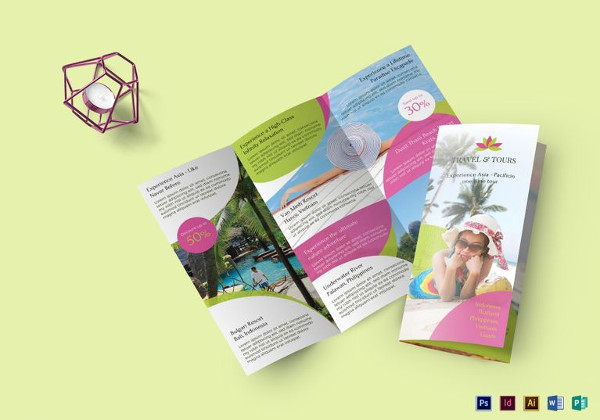 Travel and Tour Brochure Template to Print
