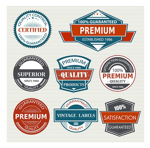 VINTAGE PRODUCT LABEL DESIGNS