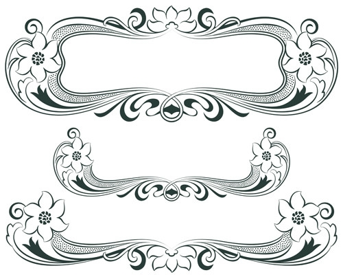 Vintage-decor-borders-with-frames-design-vector-02