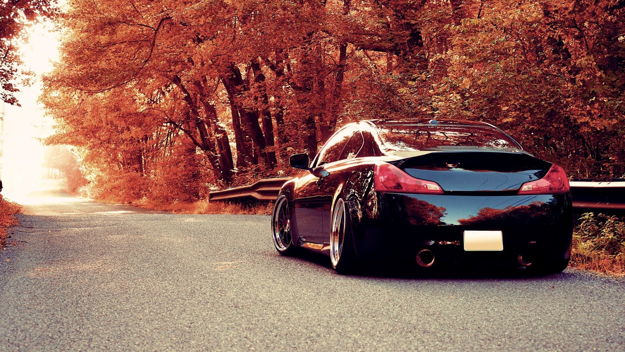 autumn car wallpaper