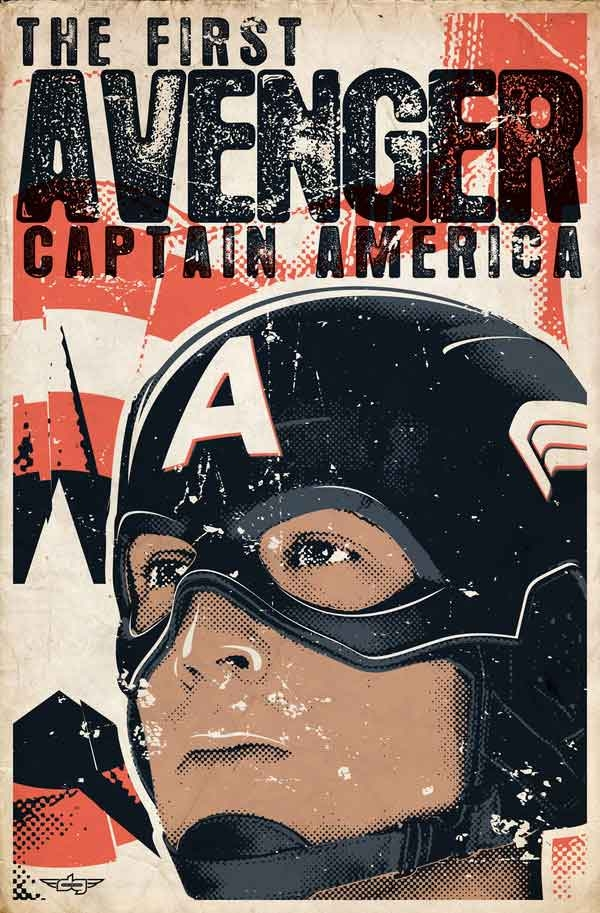 captain_america_retro_poster