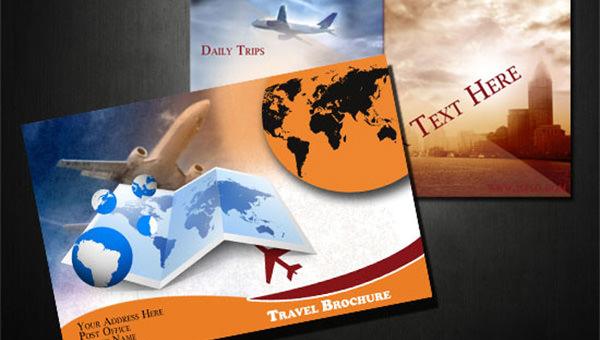 free psd travel brochure design templates freecreatives