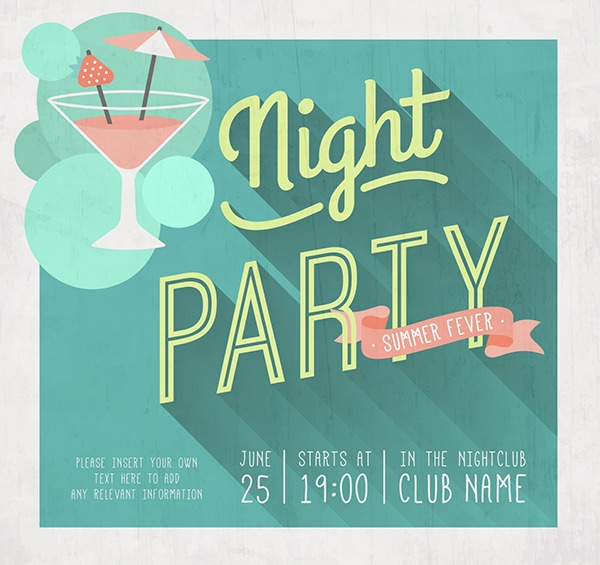 night-party-poster