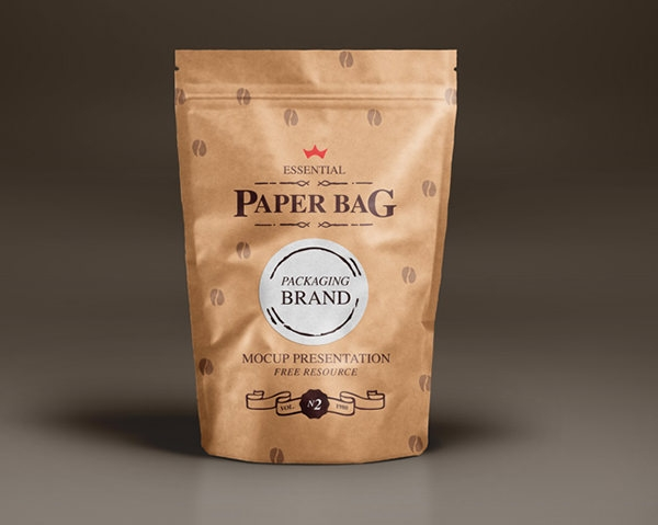 6 Free Psd Coffee Bag Mockups Freecreatives