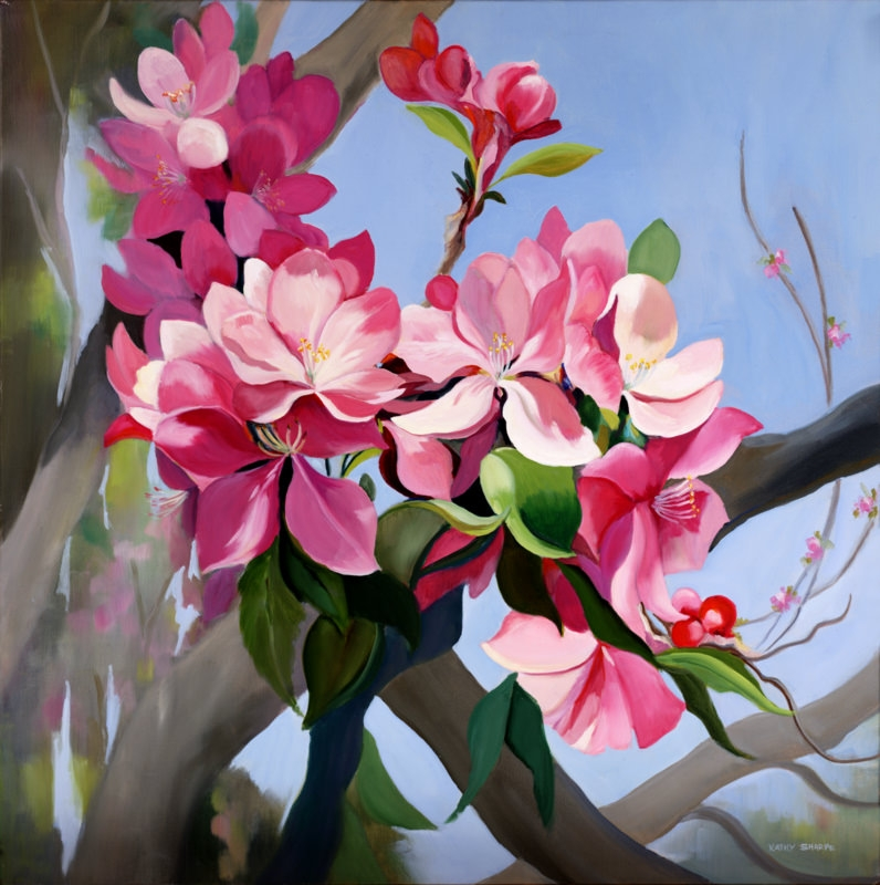 30 oil paintings jpg download for Flower paintings on canvas