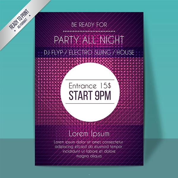 a5 party poster