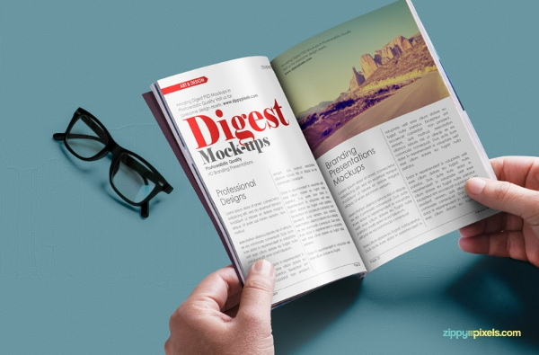 realistic-paperback-digest-psd-mockup