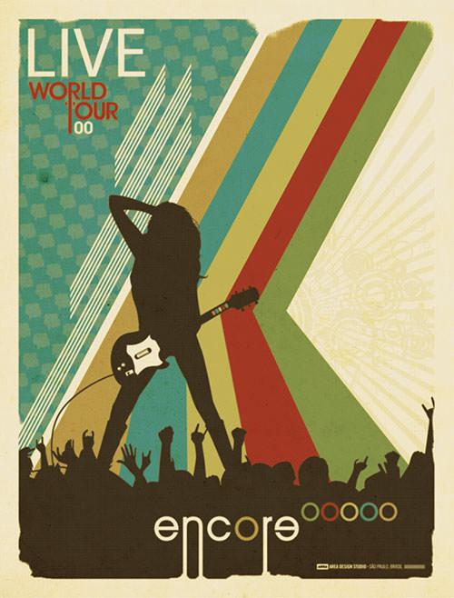 retro-music-poster