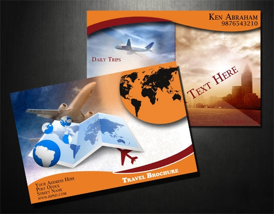 Free psd travel brochure design templates freecreatives for Scribus brochure templates