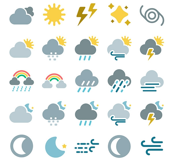 weather-forecast-icons