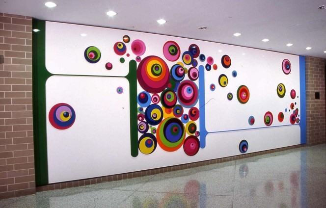 Abstract-wall-painting