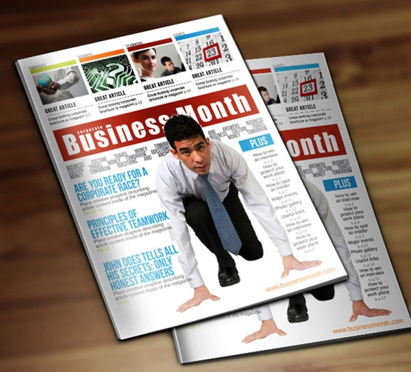 Corporate Magazine Template | 25 Best Magazine Design Templates In Pdf Freecreatives