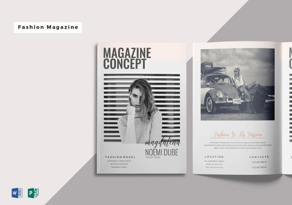 FREE 25 Best Magazine Design Templates in PDF
