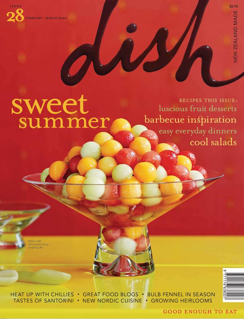 Foodie Dish-Magazine font