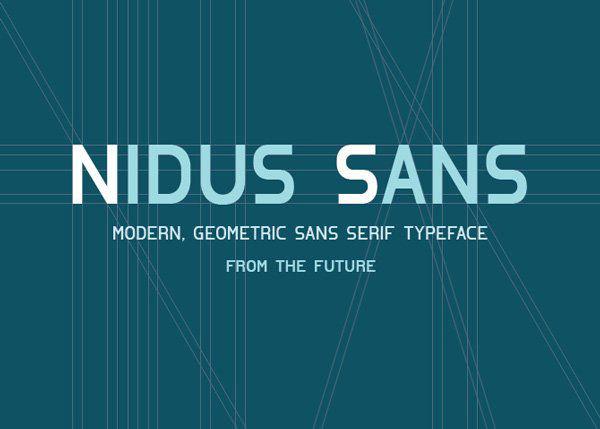 Free-Font-Nidus-Sans
