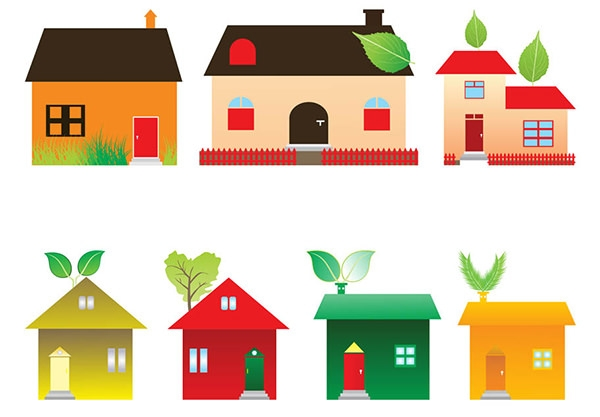 FreeVector-Eco-Houses-Graphics-icons