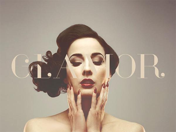 Glamor-magazine_Cover-font