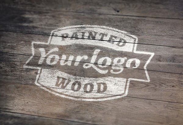Painted-Wood-Logo-Mock-Up