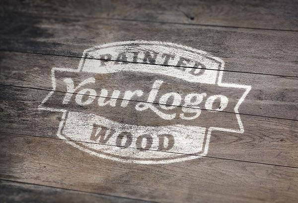 Painted-Wood-Logo-Mock-Up